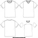 tshirt flat vector