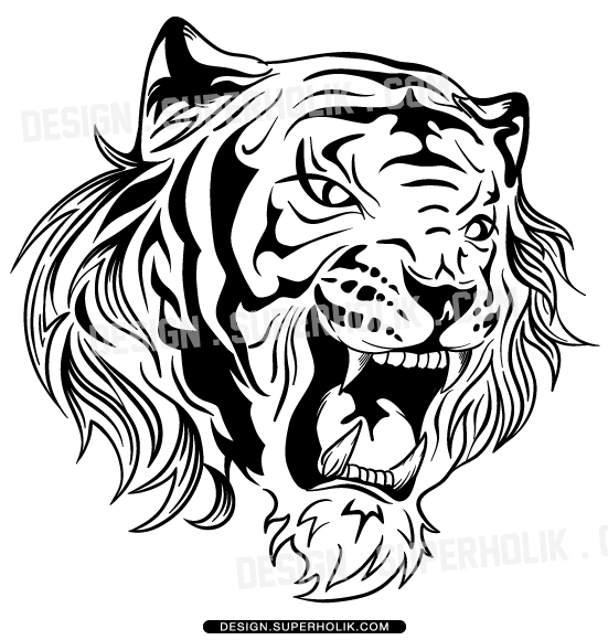 Free vector graphic tiger predator cat big cat free image on - Tiger Vector Clipart Hellovector