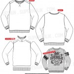 Sweatshirt vector body
