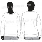 sweatshirt vector template
