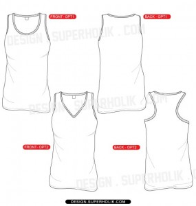 junior tank top template