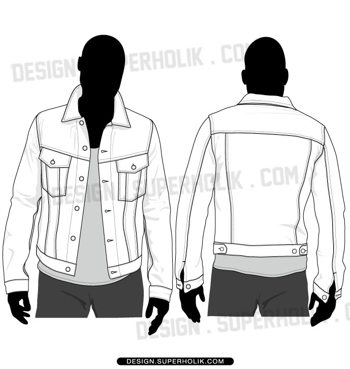 Blank Jacket Template Isla Nuevodiario Co