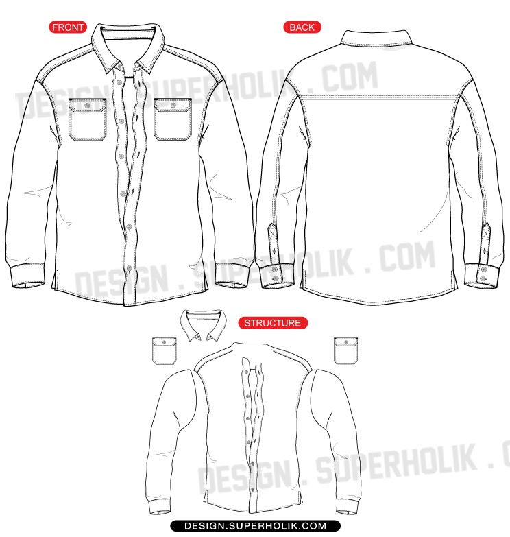 Technical Drawing likewise Itemcode 404885 furthermore Tennis Clothing And Accessories Brands additionally Button Up Shirt in addition Forever 21 Layered Box Chain Bib Necklace Silver. on formal wear tops