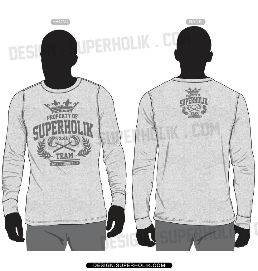 basic long sleeve shirt template