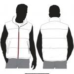 Vest vector template