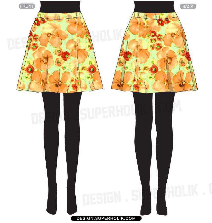 Skirt template
