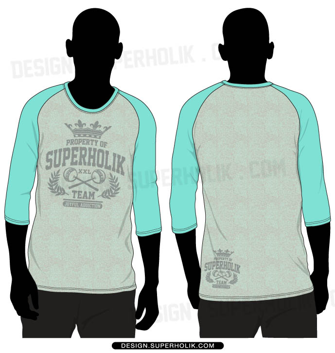 3/4 sleeve shirt template