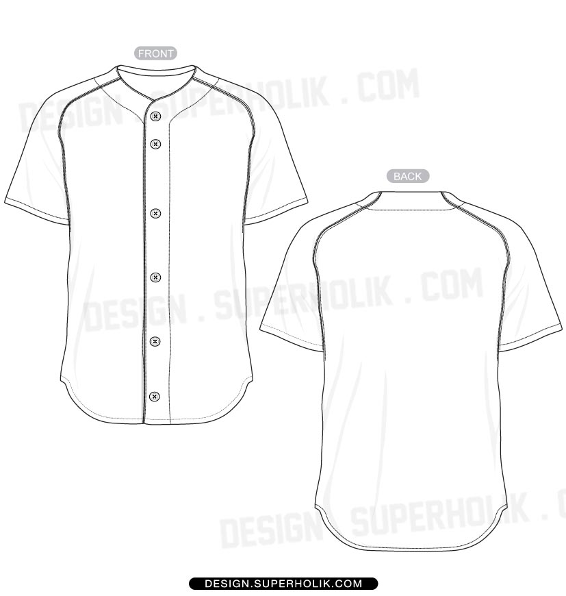 Baseball t Shirt Vector Template Baseball Jersey Shirt Vector