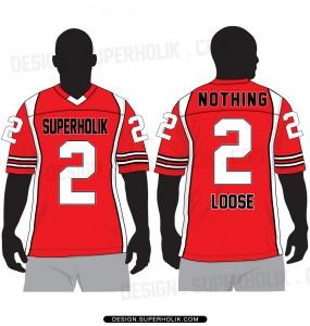 Football jersey template