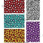 leopard style seamless pattern