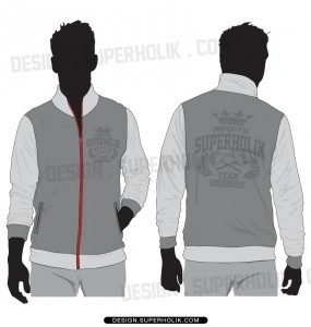 track jacket template