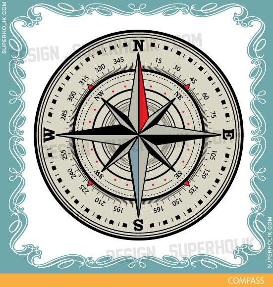compass clip-art
