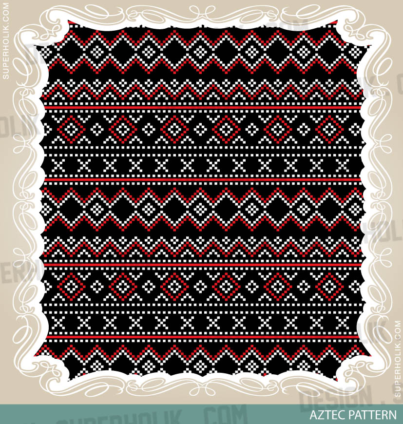 Aztec pattern- 04