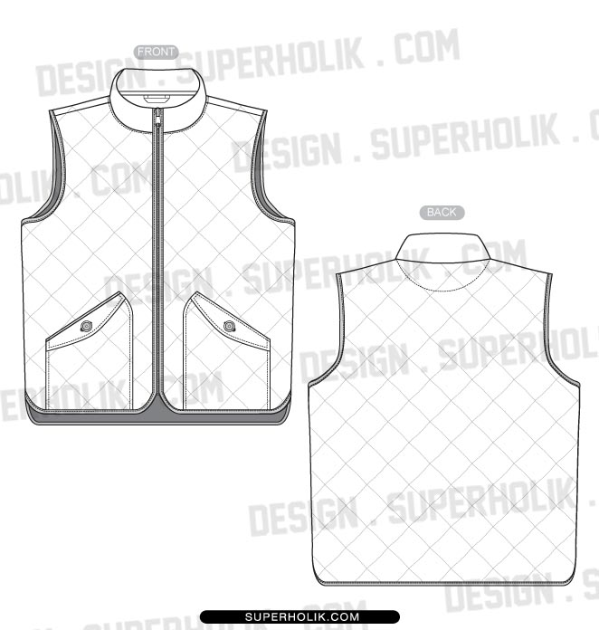 Tops hellovector for Vest top template