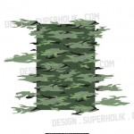CAMOUFLAGE SEAMLESS REPEAT PATTERN