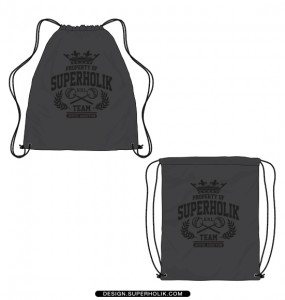Drawstring bag template