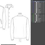 COACHES JACKET TEMPLATE