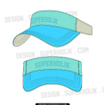 VISOR HAT TEMPLATE